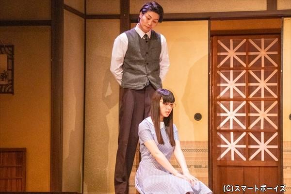 宮下と妹・時枝(相楽さん)の回想シーンでは、病弱な妹を心配する兄らしい姿が印象的