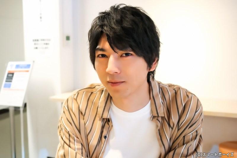 舞台『あずみ~戦国編~』にて、最上美女丸役を演じる小松準弥さん