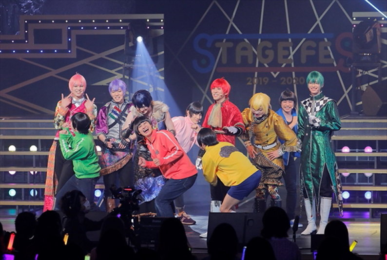 舞台「おそ松さん on STAGE ~SIX MEN'S SHOW TIME 3~」6つ子&F6