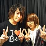 吉澤翼さん(左)&佐藤友咲さん