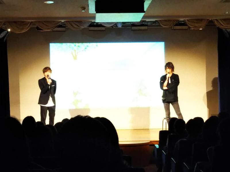 第3部Photo(右・吉澤翼さん、左・北乃颯希さん)