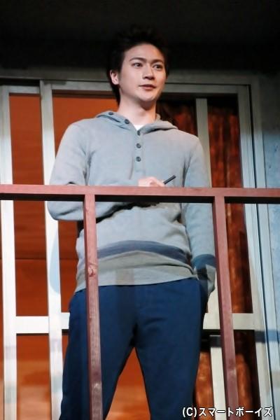 304号室の住人、伊藤永太役の青木空夢さん