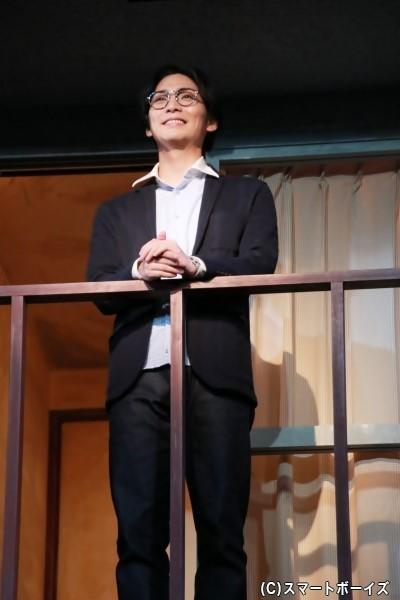 303号室の住人、森沢啓輔役の校條拳太朗さん