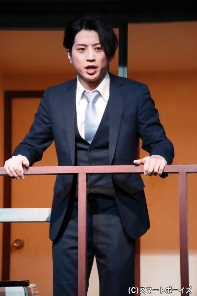 203号室の住人、葛西輝役の反橋宗一郎さん