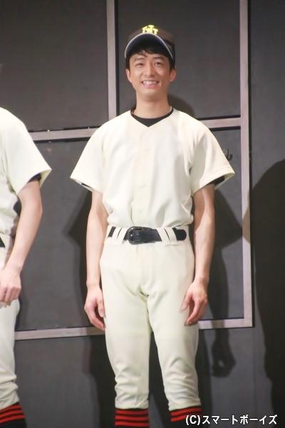 西広辰太郎役の亀井賢治さん