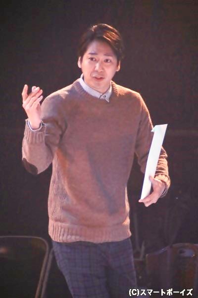 五十嵐智久役の磯貝龍乎さん