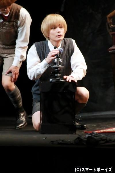 少年フランツ役の松本慎也さん