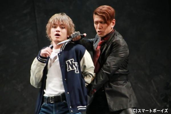 今作では外部出演の若手俳優による激しいアクションシーンにも注目!