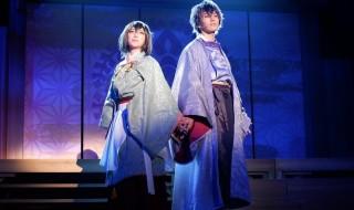 イケメンシリーズ最新作が早くも舞台化、源義経との戦い&恋物語が展開!