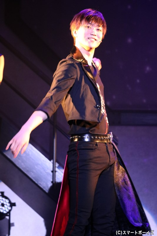 SolidS曲の志季パートは、弟・篁 圭人(田中晃平さん)が応援助っ人として担当!