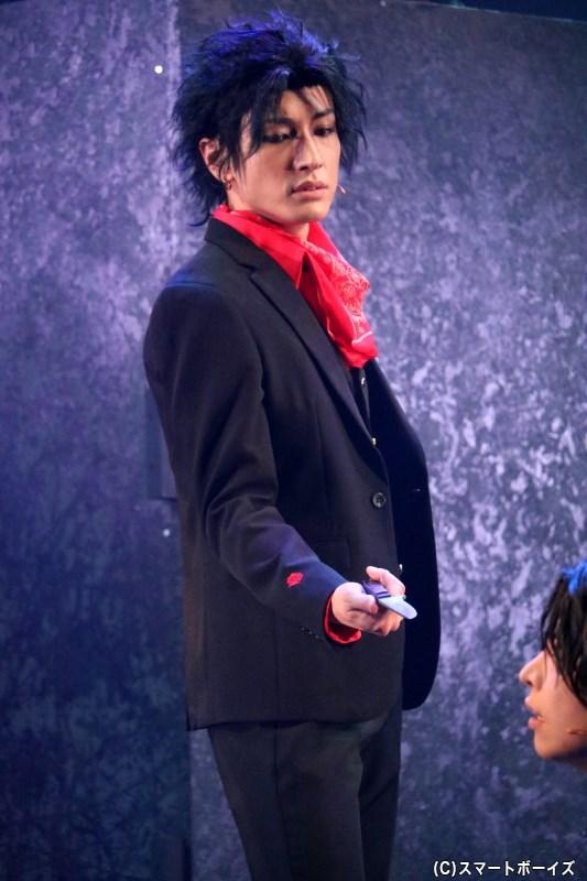 憤怒・サタン役の宮澤 佑さん