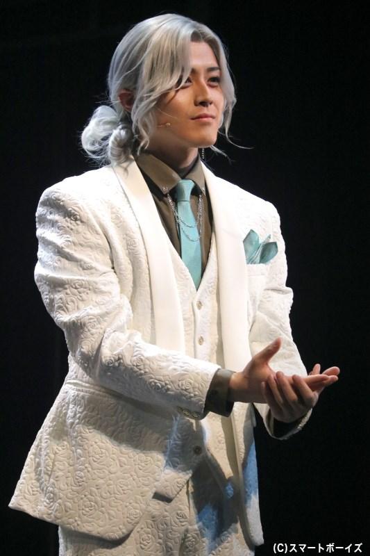 寛容・ガブリエル役の千葉瑞己さん
