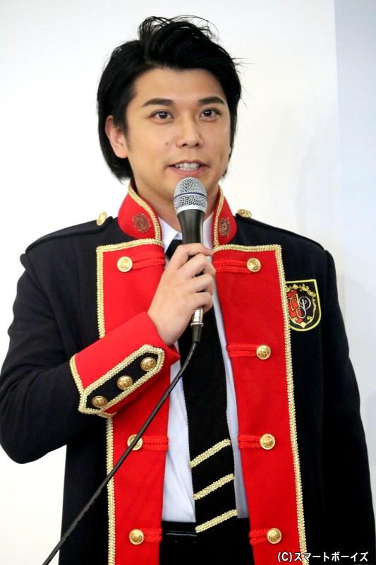 モンク役の柏木佑介さん