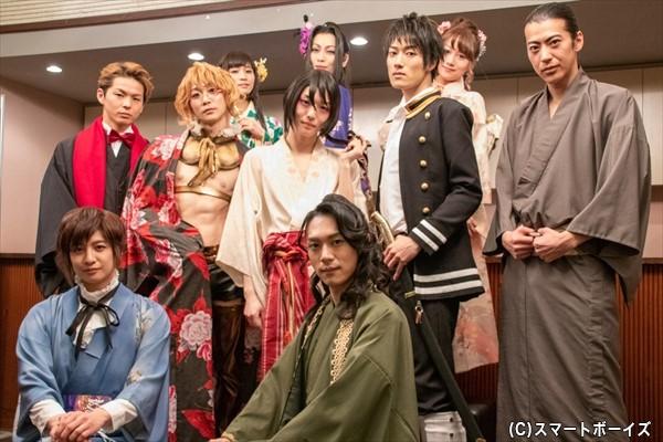 艶やかなキャラクターが魅力的な『艶漢』シリーズ、最新作が上演中!