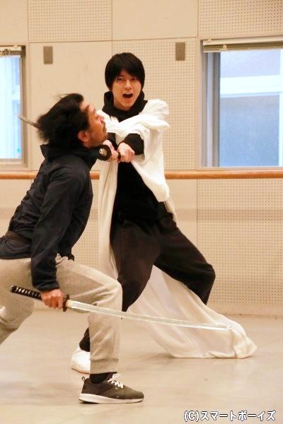 小松さん演じる最上美女丸は、あずみたちを狙う最強の刺客