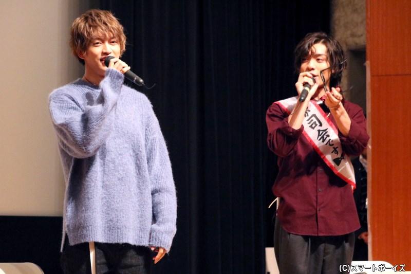 第1部に続き、石渡真修さんの誕生日をお祝いにゲスト・吉田知央さんが登場!