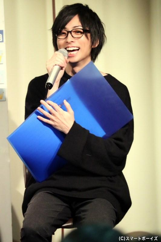 この日はイベントMC&ツッコミ役として大活躍の田口 涼さん
