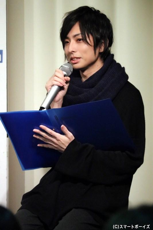イベントMC・田口涼さん