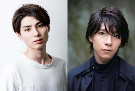 (左)十三(じゅうさん)役の本田響矢さん (右)五五(ごじゅうご)役の北川尚弥さん