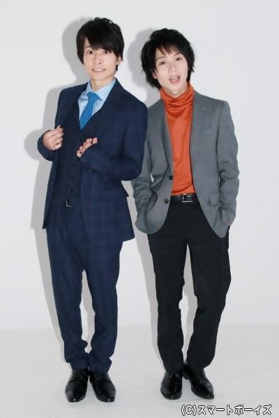 小澤さんはドラマ版、植田さんは舞台版の衣装で登場!