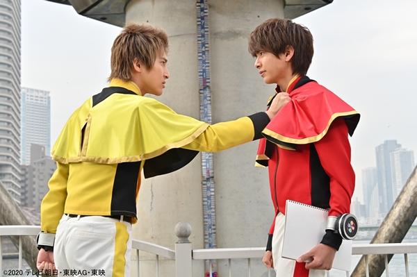 第11話では、木原瑠生さん演じるキラメイイエロー/射水為朝をフィーチャー!