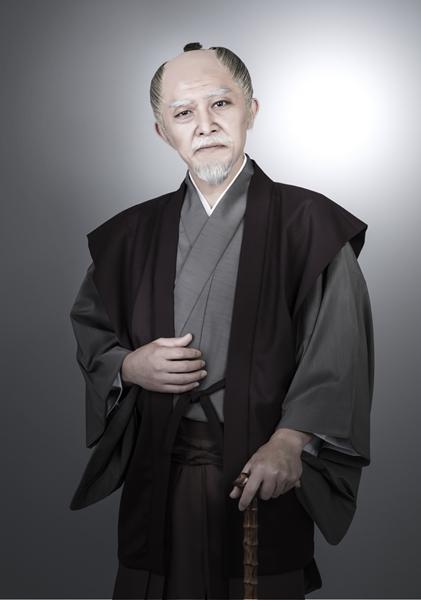 朝倉宣正役の川名浩介さん