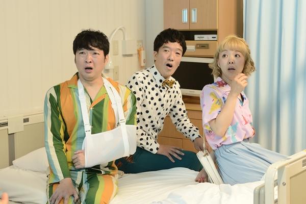 (左)今立進さん、(中央)米千晴さん