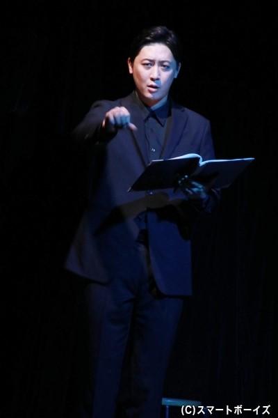 Stage Director役の中村ヒロユキさん