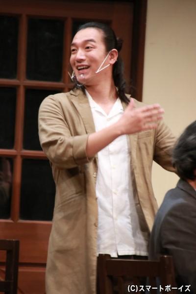 陪審員11号役の山川ありそさん