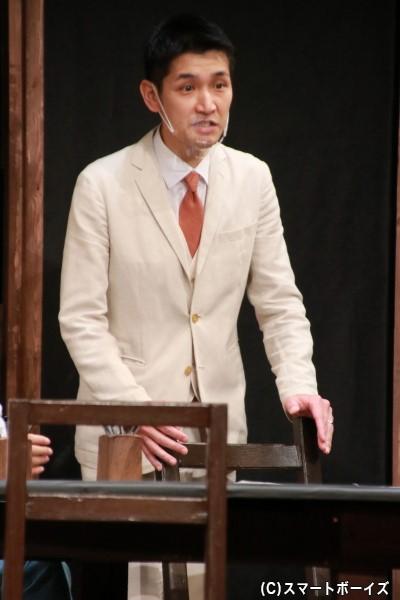 陪審員8号役の濱仲太さん
