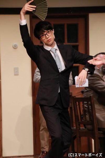陪審員2号役の萩原悠さん