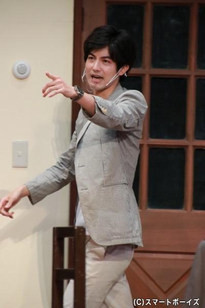 陪審員10号役の神田聖司さん