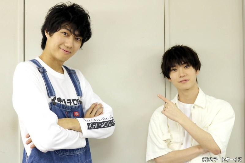 小坂さん&木津さんは、公開中の映画『浅草花やしき探偵物語 神の子は傷ついて』でも共演!