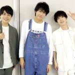 (左から)永松文太さん、小坂涼太郎さん、木津つばささん