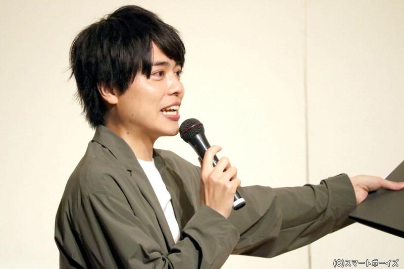 時には的確なツッコミで、小坂さんのトークを盛り上げてくれるMC・永松文太さん