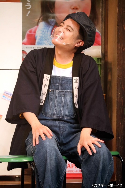 川治純(イエロー)役の堂本翔平さん