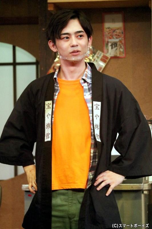 野沢辰雄(オレンジ)役の南北斗さん