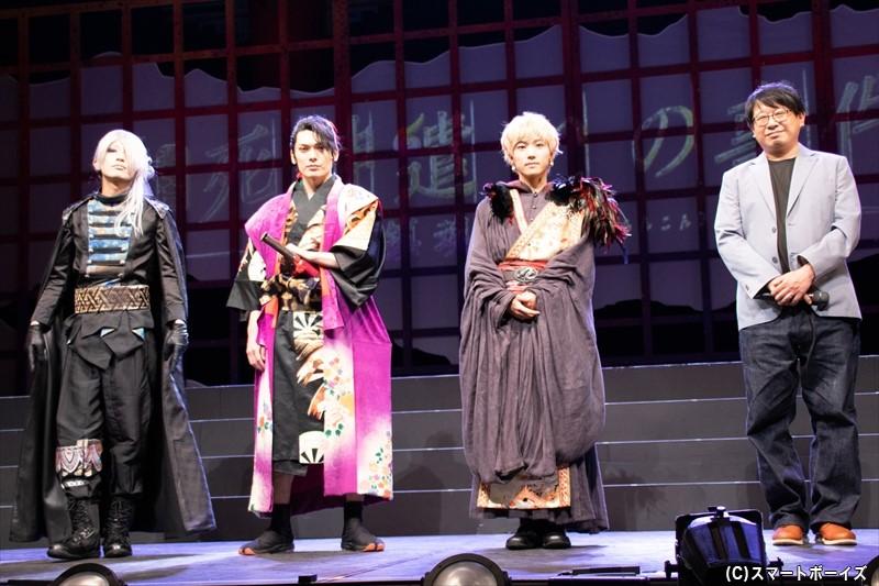 舞台『死神遣いの事件帖 - 鎮魂侠曲-』は、東京・大阪・福岡・広島の4都市で上演!