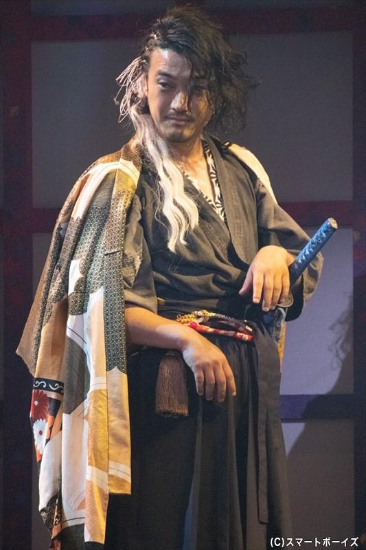 謎の男・天元役/谷口賢志さん