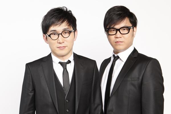シソンヌじろうさん(左)・長谷川忍さん(右)