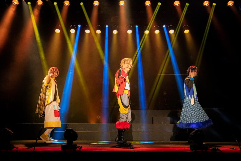 薫風☆kumpuu(一ノ瀬竜 as アーサー /正木郁 as ランスロット /糠信泰州 as マーリン)