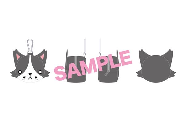 ⑦ 猫ひたポーチ 2,500円(税込)