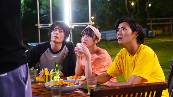 (左から)犬飼貴丈さん、与田祐希さん、竜星涼さん
