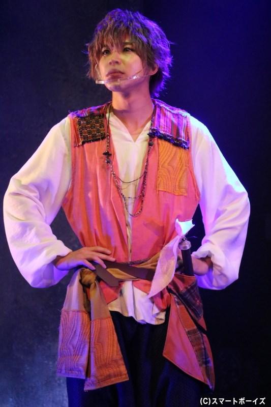 パーシヴァル役の北乃颯希さん