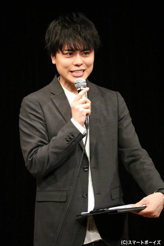 小坂さんのバースデーイベントMCでもお馴染み、俳優・永松文太さん