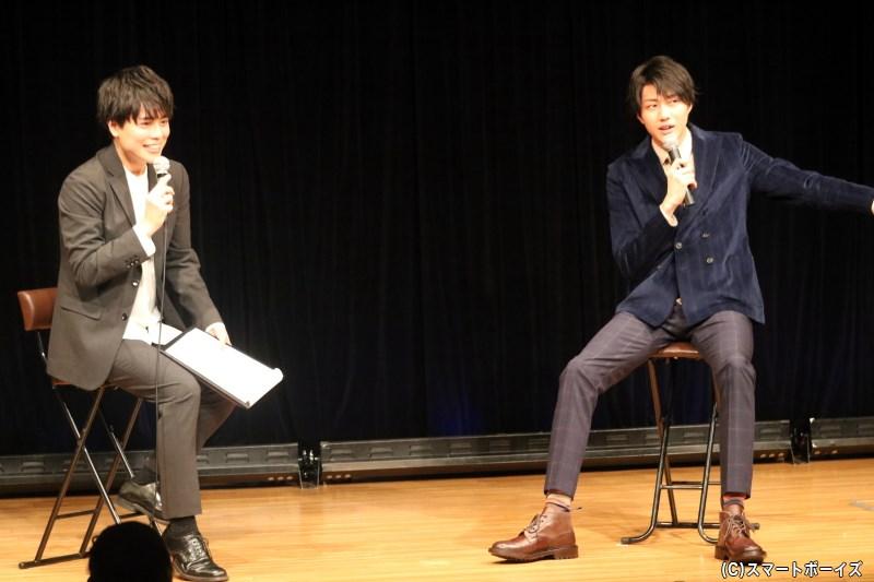 小坂涼太郎さんのカレンダー発売記念イベント、第1部をプレイバック!