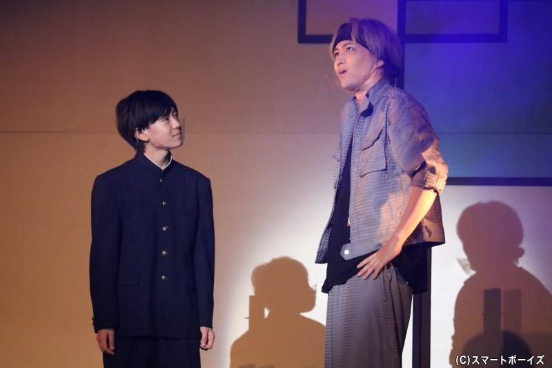 響の大切な弟・稲国 奏(左・有沢優兎さん)には、兄には秘めた夢があり……