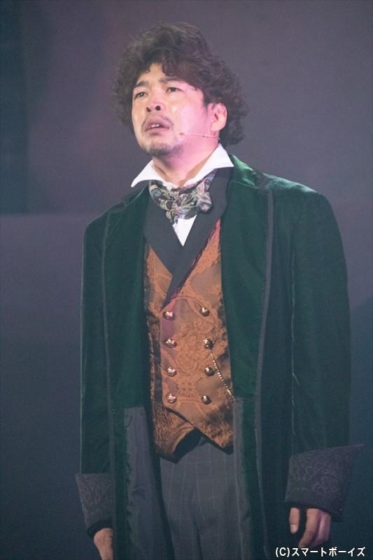 ダングラール役の村田洋二郎さん