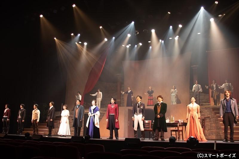 何度も舞台化された戯曲ですが、西田大輔さんのアレンジで新しい物語に!