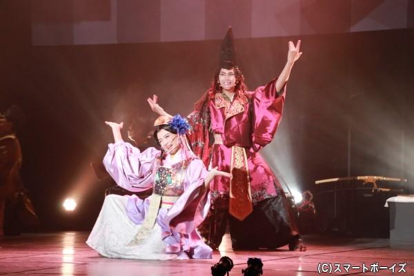 松田さんと田渕さんの妖艶なダンスにウットリ